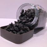 Decoratieve steentjes - Donkere Kiezeltjes
