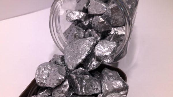 Decoratieve steentjes - Kiezeltjes Zilver